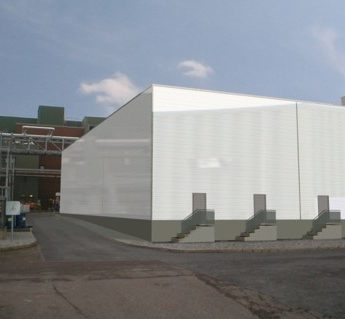 New Entrance To Chemical Warehouse Pfizer Cork Edel Regan Architects R I A I